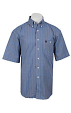 George Strait by Wrangler S/S Mens Plaid Shirt MGS61BM