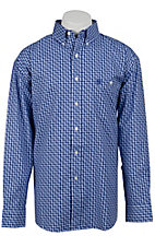 George Strait by Wrangler L/S Mens Plaid Shirt MGS62BM