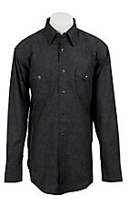 Wrangler® George Strait Troubadour™ Men's Long Sleeve Snap Shirt MGS86BK