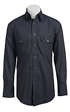Wrangler® George Strait Troubadour™ Men's Long Sleeve Snap Shirt MGS89NY