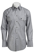 Wrangler® George Strait Troubadour™ Men's Long Sleeve Snap Shirt MGS90GY
