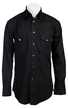 Wrangler® George Strait Troubadour™ Men's Long Sleeve Snap Shirt MGS91BKX - Big and Tall