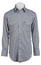 Wrangler George Strait Troubadour Men's Long Sleeve Snap Shirt MGS98GY