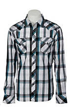 Indigo Star® Men's L/S Western Snap Shirt MIFL1605WH