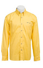 Larro™ L/S Mens Solid Yellow Shirt MLSL901YW