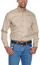Wrangler® Painted Desert L/S Western Shirt Tan MP3482T2
