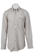 Wrangler® National Patriot™ Men's L/S Plaid Western Shirt MPP264M