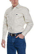 Wrangler® Stone Long Sleeve Big & Tall Workshirt