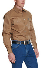 Wrangler� Rawhide Long Sleeve Big & Tall Workshirt