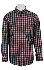 Trevor Brazile Relentless™ by Wrangler® L/S CoolMax® Plaid Shirt MTB222M