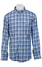 Trevor Brazile Relentless™ by Wrangler® L/S CoolMax® Plaid Shirt MTB225M