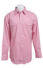 Wrangler® Tough Enough To Wear Pink™ Men's Long Sleeve Western Snap Shirt MTP125M