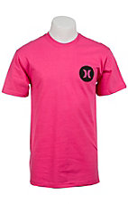 Hurley® Magenta Icon Krush Classic Fit Short Sleeve Tee