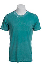 Hurley� Vista Blue One & Only Logo Premium Fit Short Sleeve Tee