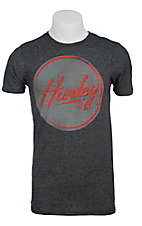 Hurley� Grey Triblend Stamped Out Logo Premium Fit Short Sleeve Tee