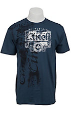 Cinch® Blue Logo S/S Tee