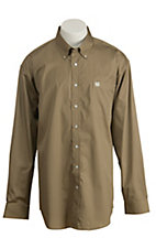 Cinch L/S Mens Solid Fine Weave Shirt MTW1103298