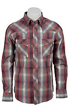 Wrangler Men's Vintage Snap Western Shirt MV1288M