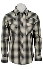 Wrangler Men's Vintage Snap Western Shirt MV1289MX