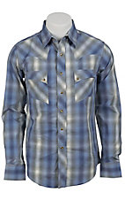 Wrangler Men's Vintage Snap Western Shirt MV1290M