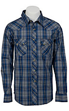 Wrangler Mens Vintage Snap Western Shirt MV1292MX