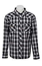 Wrangler Mens Vintage Snap Western Shirt MV1294MX