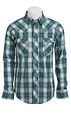 Wrangler Men's Snap Western Shirt  MV1297MX