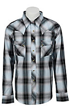 Wrangler Men's Vintage Snap Western Shirt MV1299M