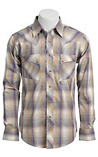 Wrangler Men's LS Snap Western Shirt MV1305M