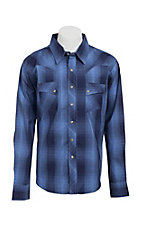 Wrangler Men?s LS Snap Western Shirt MV1312M