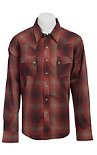 Wrangler Men?s LS Snap Western Shirt MV1315M