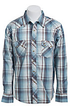 Wrangler Men's LS Snap Western Shirt MV1320M