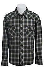 Wrangler Men?s LS Snap Western Shirt MV1322M