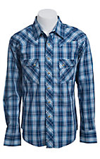 Wrangler Men?s LS Snap Western Shirt MV1323M