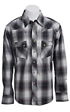 Wrangler Men?s LS Snap Western Shirt MV1324M