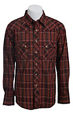 Wrangler Men?s LS Snap Western Shirt MV1325M