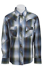 Wrangler Men?s LS Snap Western Shirt MV1326M