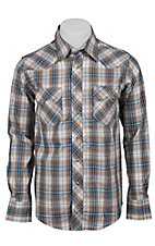 Wrangler Mens LS Snap Western Shirt MV1329MX