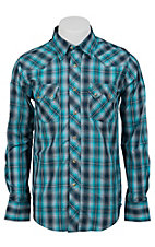 Wrangler Mens LS Snap Western Shirt MV1330MX