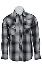 Wrangler Mens LS Snap Western Shirt MV1334MX