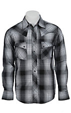 Wrangler Men?s LS Snap Western Shirt MV1334M