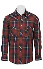 Wrangler Men?s LS Snap Western Shirt MV1335M