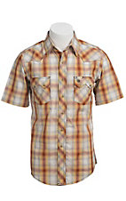 Wrangler Men's SS Snap Western Shirt MV3009M
