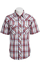 Wrangler Men's SS Snap Western Shirt MV3011M