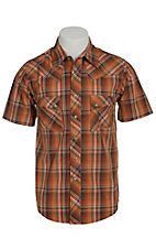 Wrangler Mens S/S Snap Western Shirt MV3015MX