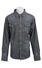 Wrangler� Men's Retro Snap Chambray Western Shirt MVR151D