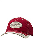 Wrangler Red with Cream Patch 47 Logo Cap