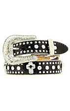 Nocona® Children's Rhinestone and Crocodile Print Belt