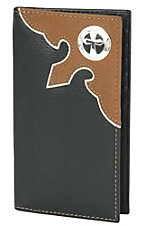 Nocona® Black  Rodeo Wallet/Checkbook Cover N5440201