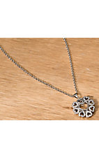 Montana Silversmiths® Vintage Charm My Heart Blooms Necklace